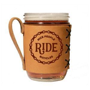 Wide Mason Sleeve: Nice People Ride Bikes