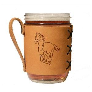 Wide Mason Sleeve: Horse