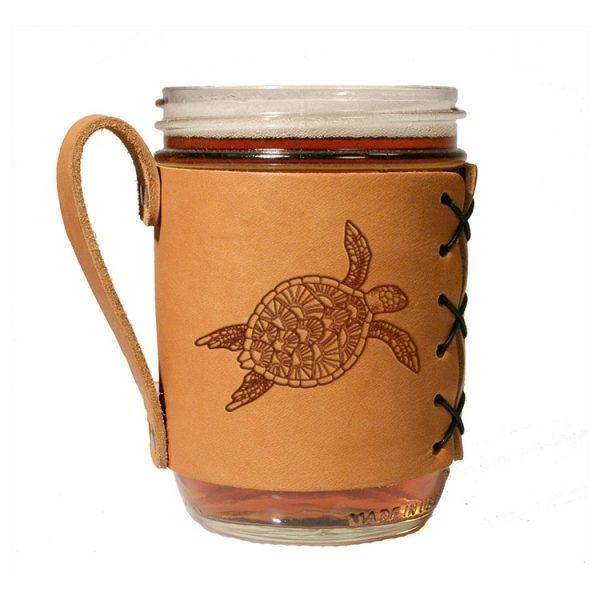 Wide Mason Sleeve: Sea Turtle