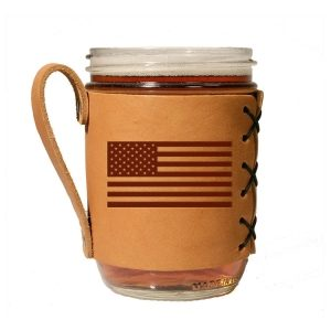Wide Mason Sleeve: American Flag