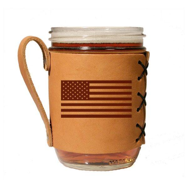 Wide Mason Sleeve: American Flag