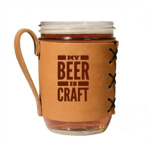 Wide Mason Sleeve: My Beer is Craft