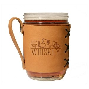 Wide Mason Sleeve: Whiskey