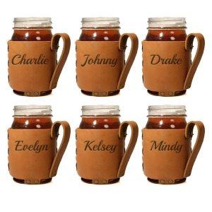 Regular Mason Jar Sleeve Set of 6