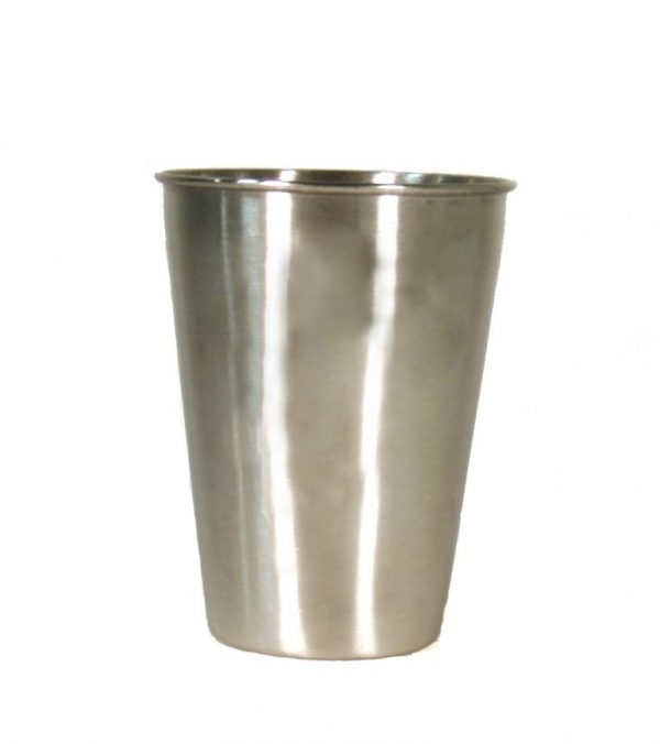 Stainless Steel Pint Cup Sleeve Set of 6