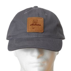 Chino Unstructured Hat with Patch: Sweet Home AL