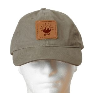 Chino Unstructured Hat with Patch: Adventure Time