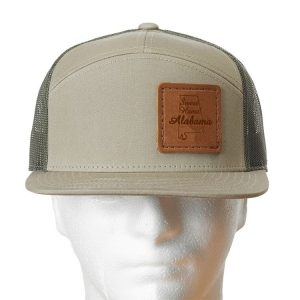 Seven Panel Twill Trucker: Sweet Home AL