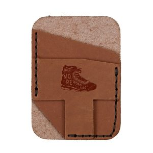 Double Vertical Card Wallet: Hike More, Worry Less