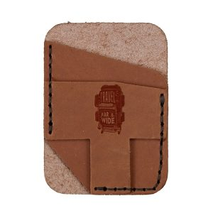 Double Vertical Card Wallet: Travel Far & Wide