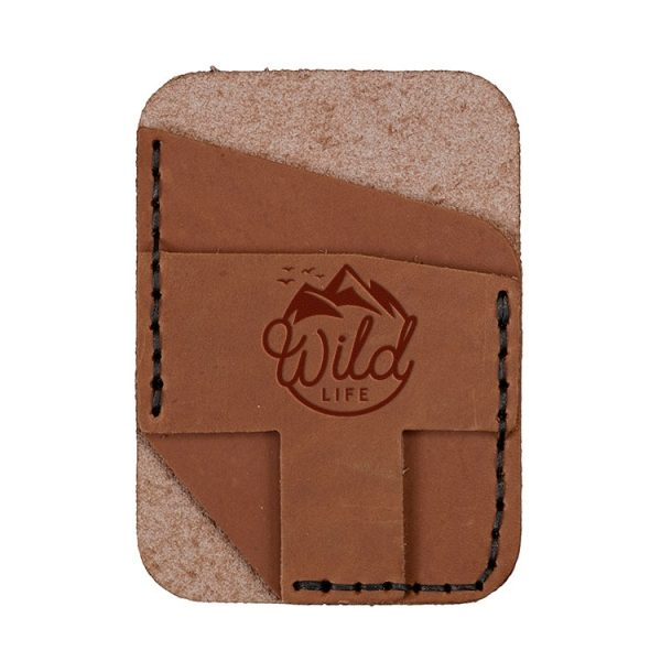 Double Vertical Card Wallet: Wild Life