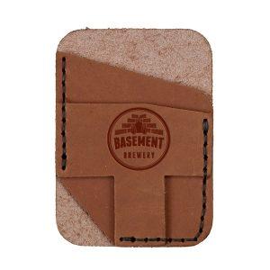 Double Vertical Card Wallet: Basement Brewery