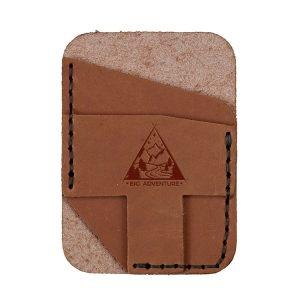 Double Vertical Card Wallet: Big Adventure