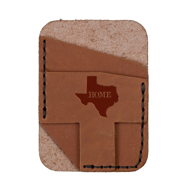 Double Vertical Card Wallet: TX Home