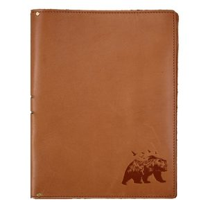 "8.5"" x 11"" Portfolio: Mountain Bear"