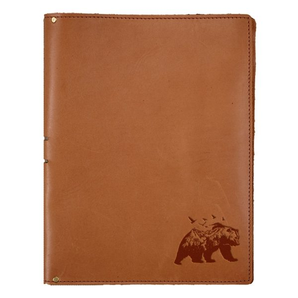 """8.5"""" x 11"""" Portfolio: Mountain Bear"""