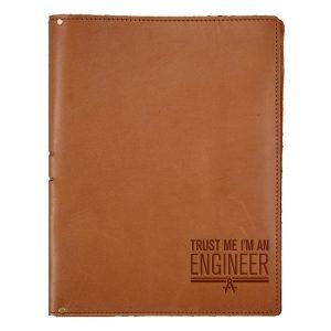 """8.5"""" x 11"""" Portfolio: Trust Me ... Engineer"""