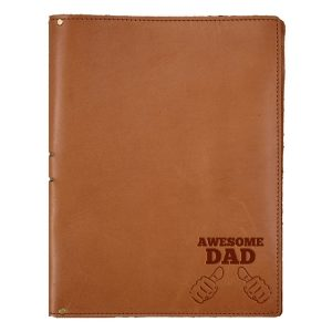 "8.5"" x 11"" Portfolio: Awesome Dad"