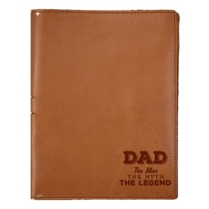 "8.5"" x 11"" Portfolio: Dad - Man, Myth, Legend"