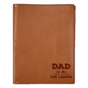 """8.5"""" x 11"""" Portfolio: Dad - Man, Myth, Legend"""