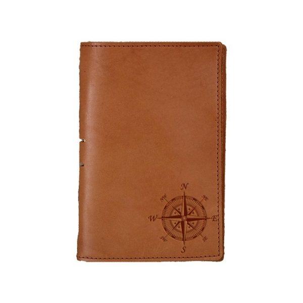 Junior Legal Leather Portfolio: Compass Rose