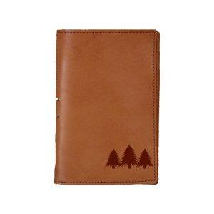 Junior Legal Leather Portfolio: Pine Trees