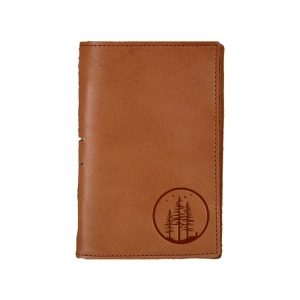 Junior Legal Leather Portfolio: Starry Trees