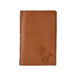 Junior Legal Leather Portfolio: Horse