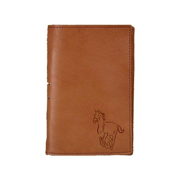 Junior Legal Leather Portfolio: Horse