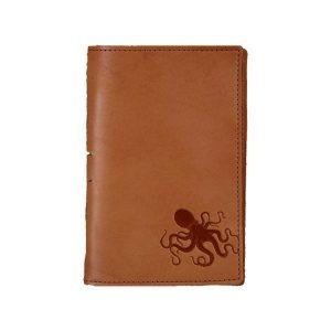 Junior Legal Leather Portfolio: Octopus