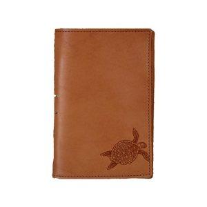 Junior Legal Leather Portfolio: Sea Turtle