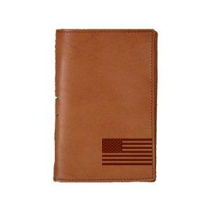 Junior Legal Leather Portfolio: American Flag