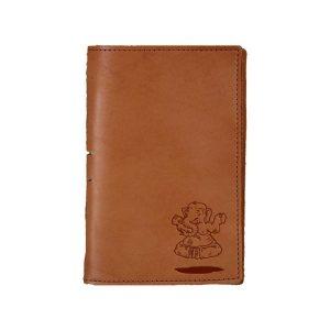Junior Legal Leather Portfolio: Elephant Buddah