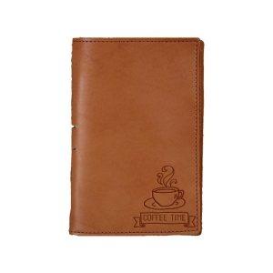 Junior Legal Leather Portfolio: Coffee Time