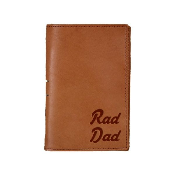 Junior Legal Leather Portfolio: Rad Dad