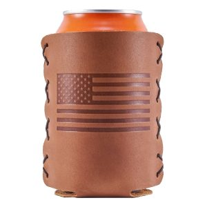 Can Holder: American Flag