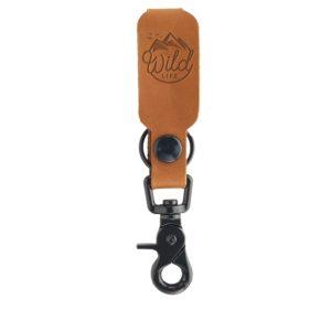 LOGO Leather Keychain: Wild Life