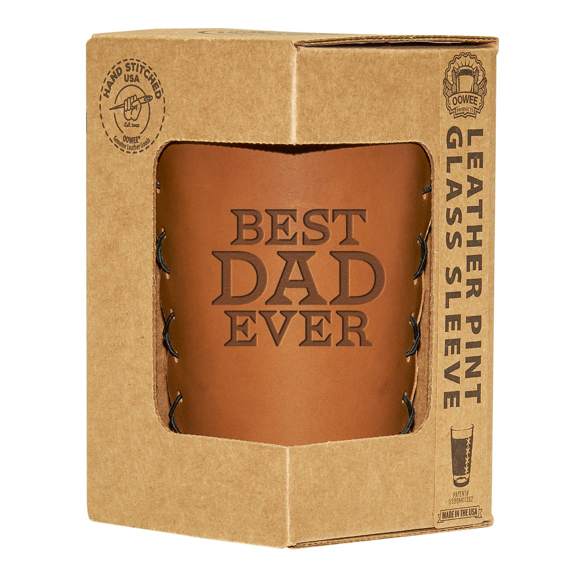 Pint Holder: Best Dad Ever