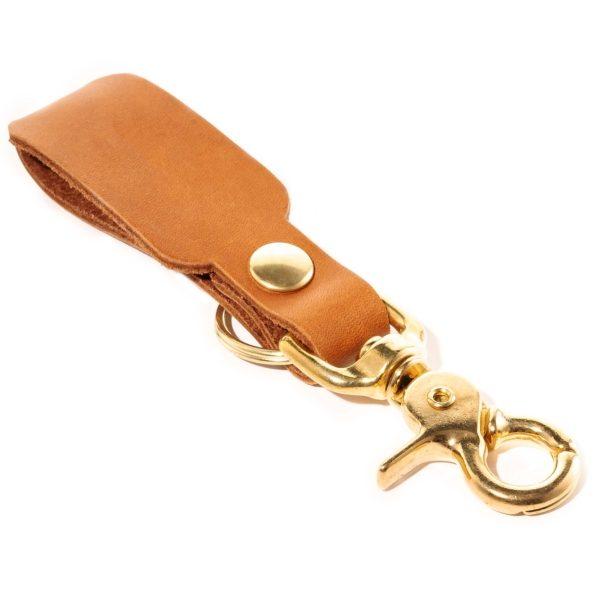 LOGO Leather Keychain: Trust Me ... Engineer