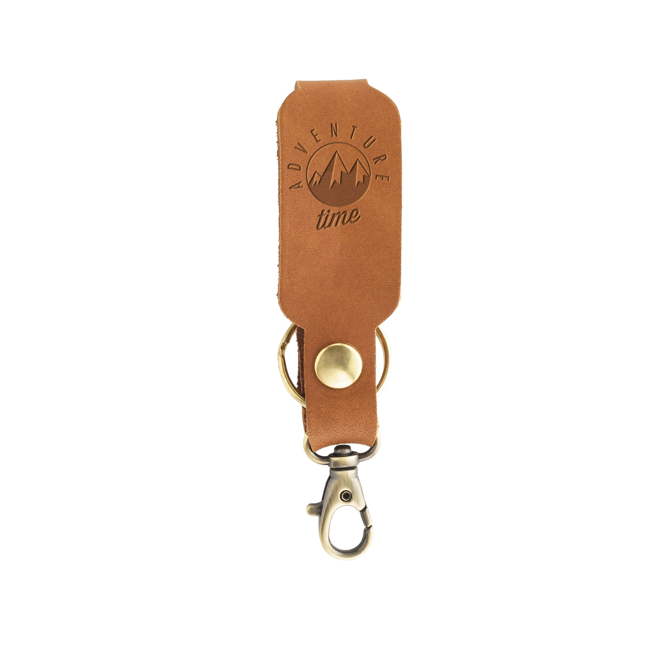 LOGO Leather Keychain: Adventure Time