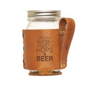 Regular Mason Sleeve: Beer Ingredients