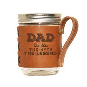 Wide Mason Sleeve: Dad - Man, Myth, Legend