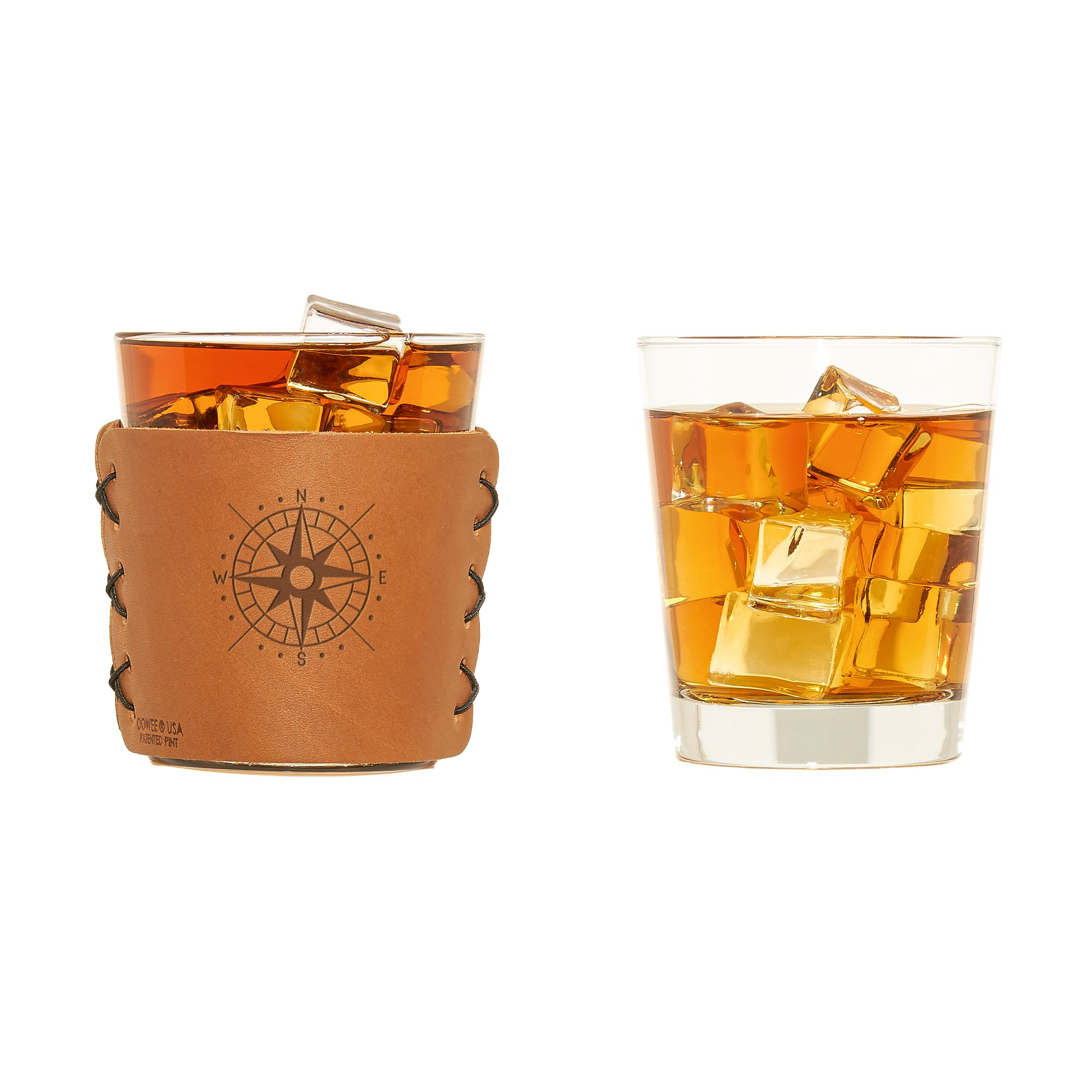 Highball Set of 2 with Glasses: Compass Rose