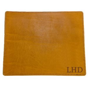 Mouse Pad with Decorative Stitch: Custom Initials