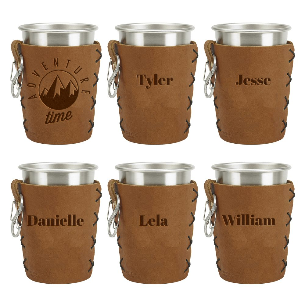 Stainless Steel Pint Cup Sleeve Set Of 6 Oowee Products