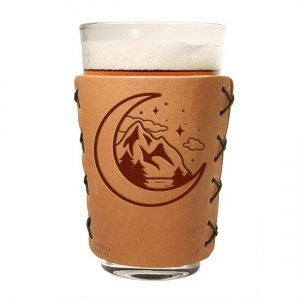 Pint Holder: Mountains & Moon
