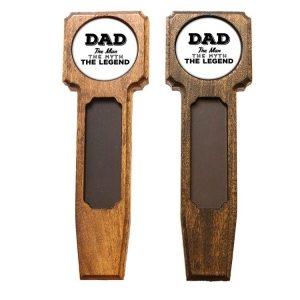 Square Top Homebrew Handle: Dad - Man, Myth, Legend