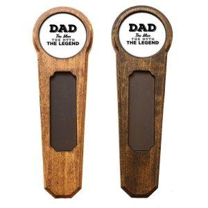 Round Top Homebrew Handle: Dad - Man, Myth, Legend
