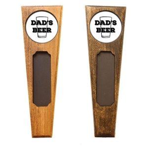 Triangle Top Homebrew Handle: Dad's Beer