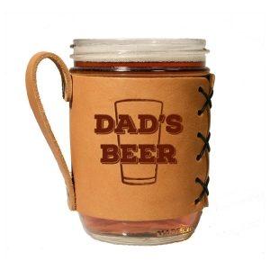 Wide Mason Sleeve: Dad's Beer